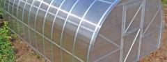 Виды каркасов для теплицы из поликарбоната