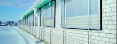 Как установить окна из поликарбоната